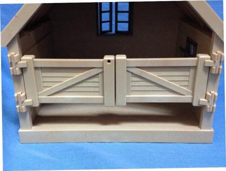 sylvanian pony stable gate