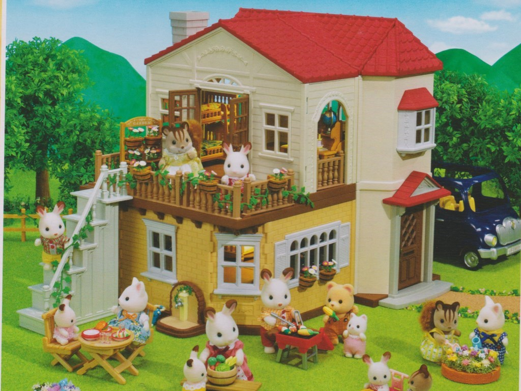 Sylvanian Red Roof House