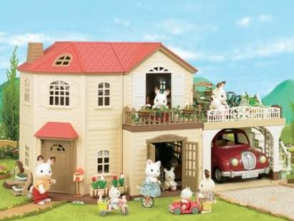 sylvanian families maple manor