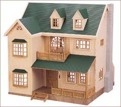 Sylvanian house on the hill