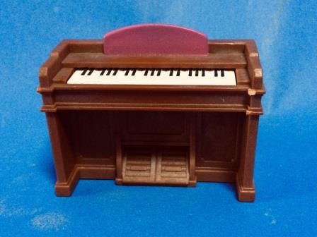 sylvanian rainbow nursery piano