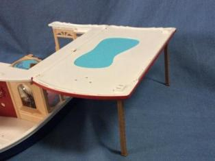 sylvanian seaside cruiser parts