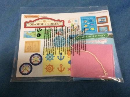 sylvanian families sticker sheet