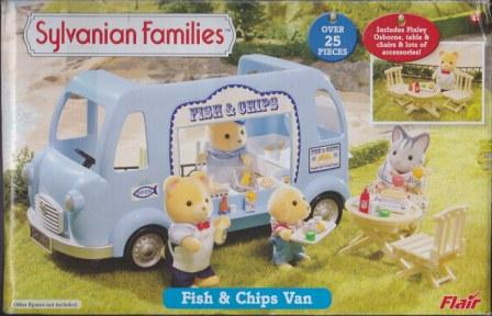 Fish and Chip Van